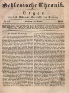 Schlesische Chronik, 1848, Jg. 13, No. 13