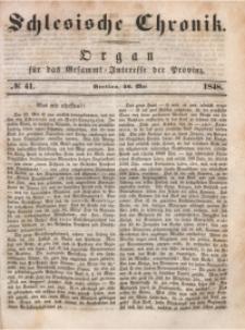 Schlesische Chronik, 1848, Jg. 13, No. 41
