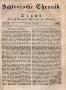 Schlesische Chronik, 1848, Jg. 13, No. 44