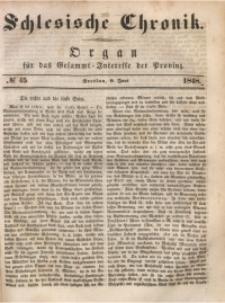Schlesische Chronik, 1848, Jg. 13, No. 45