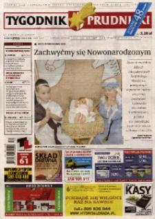 Tygodnik Prudnicki : prywatna gazeta lokalna gmin : Prudnik, Biała, Głogówek, Korfantów, Lubrza, Strzeleczki, Walce. R. 25, nr 51-52 [52-53] (1304-1305).