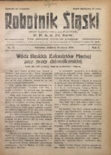 Robotnik Śląski, 1929, R. 2, Nr. 11