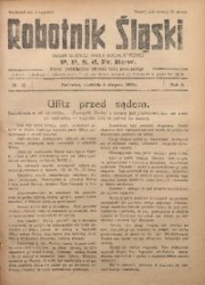 Robotnik Śląski, 1929, R. 2, Nr. 32