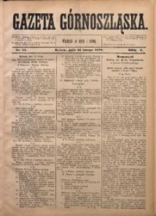 Gazeta Górnoszląska, 1878, R. 5, Nr. 14