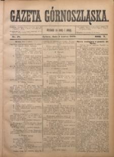 Gazeta Górnoszląska, 1878, R. 5, Nr. 18