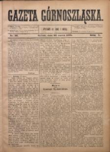 Gazeta Górnoszląska, 1878, R. 5, Nr. 26