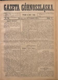 Gazeta Górnoszląska, 1878, R. 5, Nr. 90