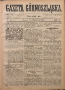 Gazeta Górnoszląska, 1878, R. 5, Nr. 98