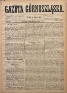Gazeta Górnoszląska, 1879, R. 6, Nr. 7