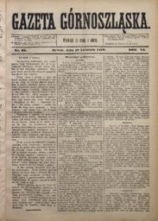 Gazeta Górnoszląska, 1879, R. 6, Nr. 30