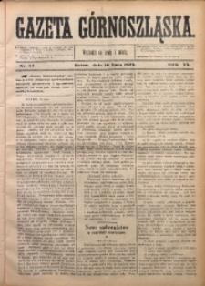 Gazeta Górnoszląska, 1879, R. 6, Nr. 54