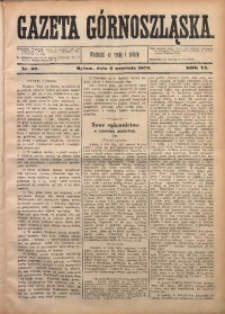 Gazeta Górnoszląska, 1879, R. 6, Nr. 69