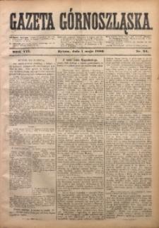 Gazeta Górnoszląska, 1880, R. 7, Nr. 34
