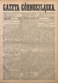 Gazeta Górnoszląska, 1880, R. 7, Nr. 74