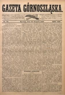 Gazeta Górnoszląska, 1881, R. 8, Nr. 65