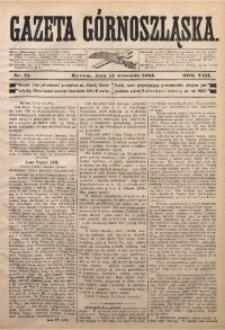 Gazeta Górnoszląska, 1881, R. 8, Nr. 71