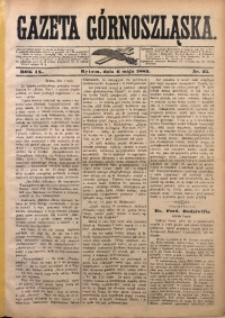 Gazeta Górnoszląska, 1882, R. 9, Nr. 35