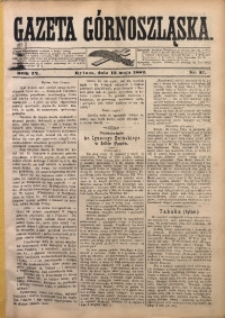 Gazeta Górnoszląska, 1882, R. 9, Nr. 37
