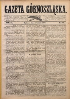 Gazeta Górnoszląska, 1882, R. 9, Nr. 38