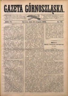 Gazeta Górnoszląska, 1882, R. 9, Nr. 63