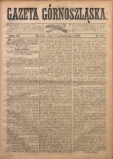 Gazeta Górnoszląska, 1882, R. 9, Nr. 77