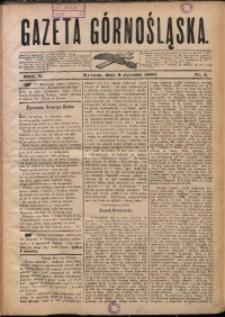 Gazeta Górnośląska, 1883, R. 10, Nr. 1