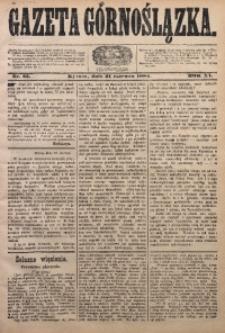 Gazeta Górnoślązka, 1884, R. 11, Nr. 25