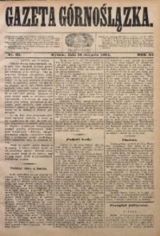 Gazeta Górnoślązka, 1884, R. 11, Nr. 33