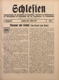 Schlesien, 1923, Jg. 3, H. 5