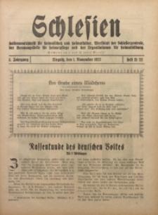 Schlesien, 1923, Jg. 3, H. 21/22