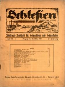 Schlesien, 1925, Jg. 5, H. 5/6