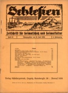 Schlesien, 1925, Jg. 5, H. 13