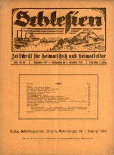 Schlesien, 1925, Jg. 5, H. 16