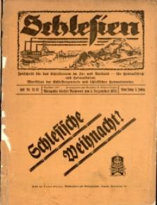 Schlesien, 1925, Jg. 5, H. 22/23