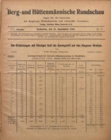 Berg- und Hüttenmännischen Rundschau, 1919/1920, Jg. 16, Nr. 12