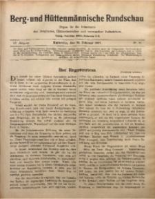 Berg- und Hüttenmännischen Rundschau, 1906/1907, Jg. 3, Nr. 10