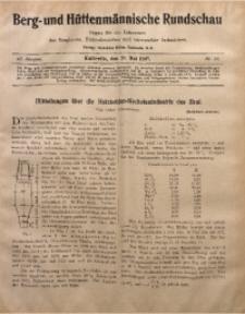 Berg- und Hüttenmännischen Rundschau, 1906/1907, Jg. 3, Nr. 16