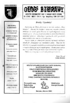 Głos Bierawy 2002, nr 1 [29].