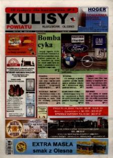 Kulisy Powiatu Kluczbork - Olesno 2008, nr 5 (221).