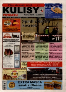 Kulisy Powiatu Kluczbork - Olesno 2008, nr 21 (237).