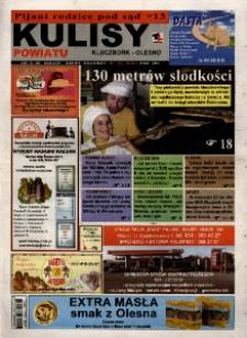 Kulisy Powiatu Kluczbork - Olesno 2008, nr 31 (247).