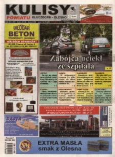 Kulisy Powiatu Kluczbork - Olesno 2009, nr 23 (291).