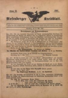 Rosenberger Kreisblatt, 1897, St. 20