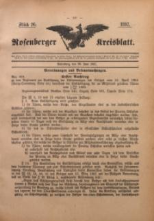 Rosenberger Kreisblatt, 1897, St. 26