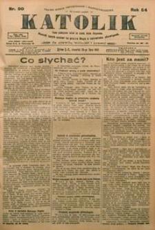 Katolik, 1921, R. 54, nr 90
