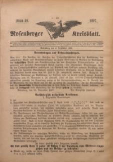 Rosenberger Kreisblatt, 1897, St. 49
