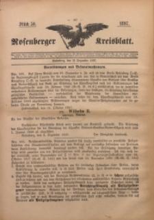 Rosenberger Kreisblatt, 1897, St. 50