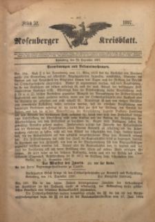 Rosenberger Kreisblatt, 1897, St. 52