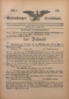 Rosenberger Kreisblatt, 1898, St. 2