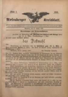 Rosenberger Kreisblatt, 1898, St. 3